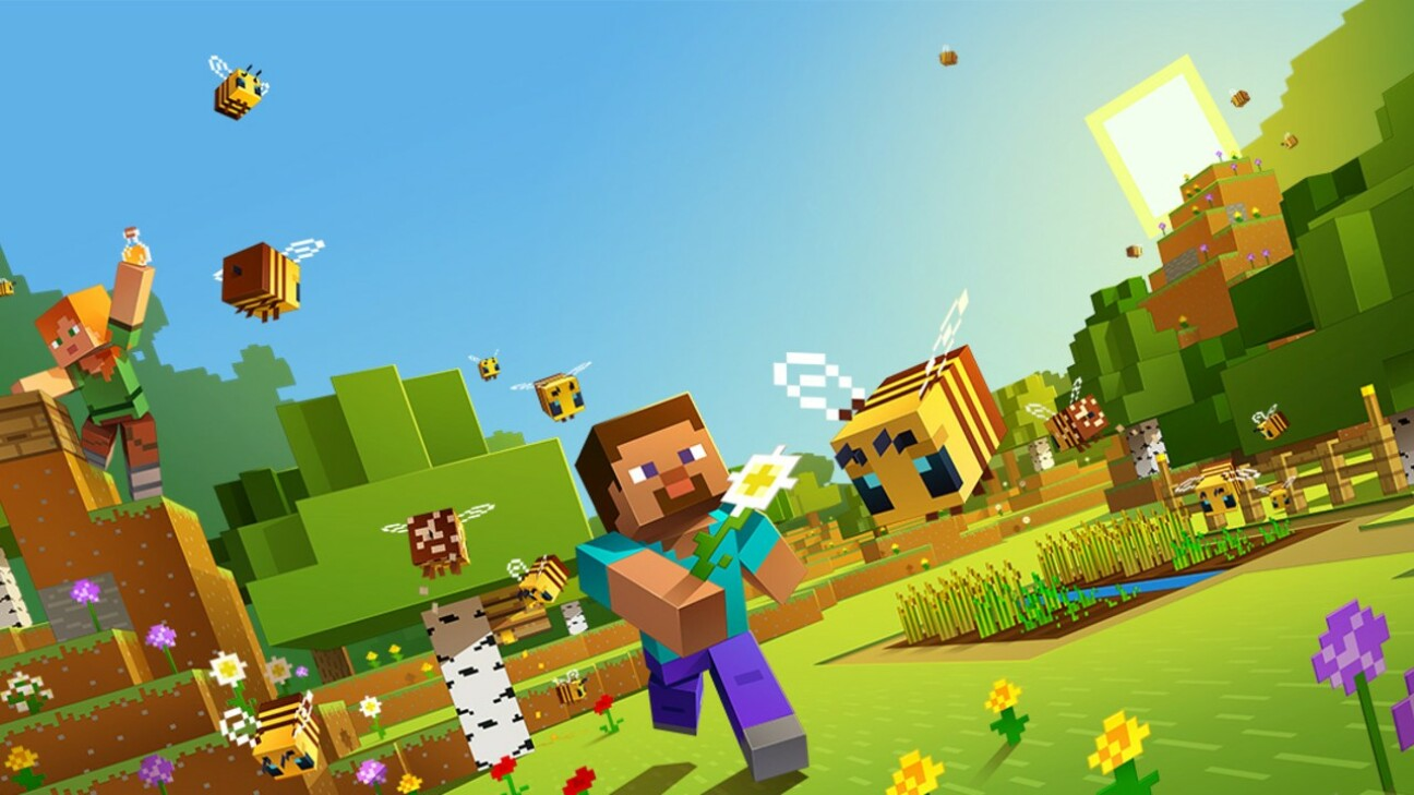 Une nouvelle version arrive, Minecraft 1.15 Buzzy Bees, abeilles bourdonnantes...