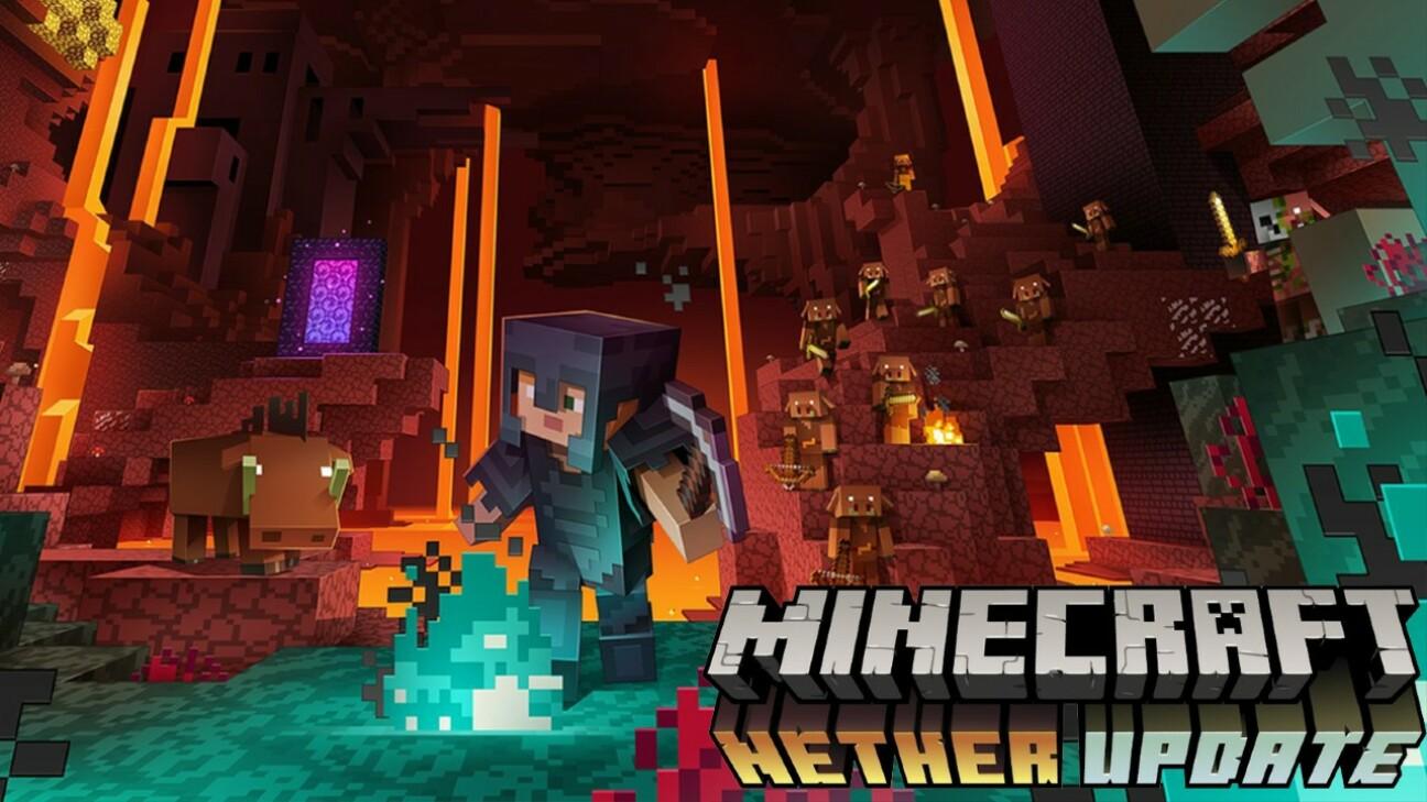 La nouvelle mise à jour Minecraft est arrivée, connue sous le nom de Minecraft 1.16 Nether Update...