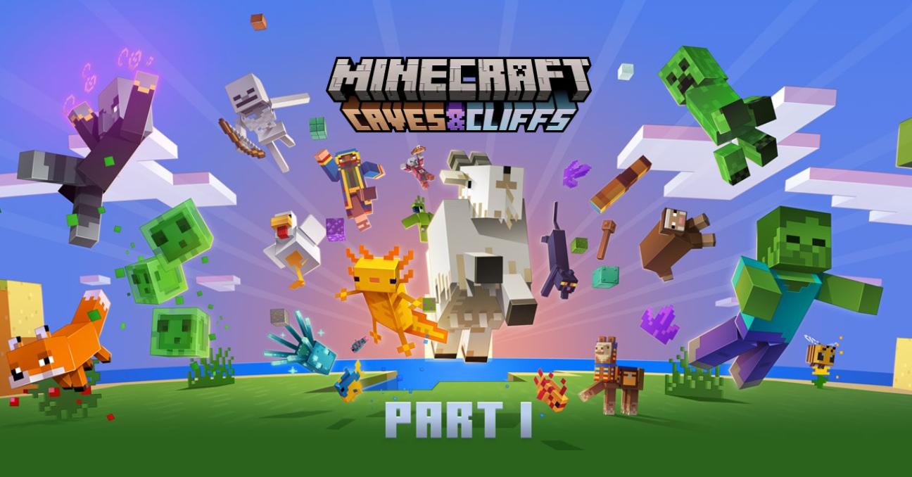 Minecraft 1.17 - Mise à jour des cavernes et falaises - Partie 1 : Découvrez les nouveautés et...